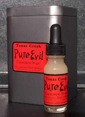 Texas Creek Products Pure Evil 16 Million SHU Capsaicin Drops